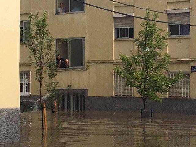 Inundaciones en Barrio del Aeropuerto