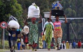 La violencia en el este de República Democrática del Congo obliga a huir a 80.000 personas