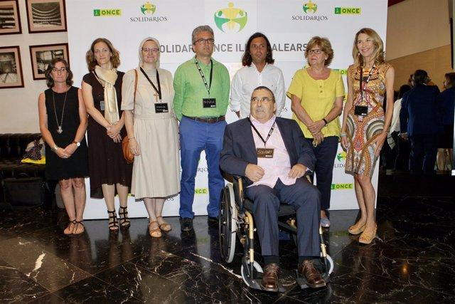 Entrega de los premios solidarios ONCE Baleares 2017