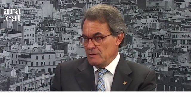 Entrevista a A.Mas en el Ara