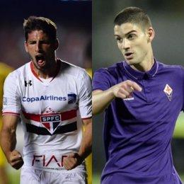 Jonathan Calleri y Hernán Toledo, nuevos jugadores de Las Palmas