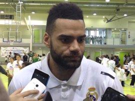 Jeffery Taylor renueva dos años con el Real Madrid