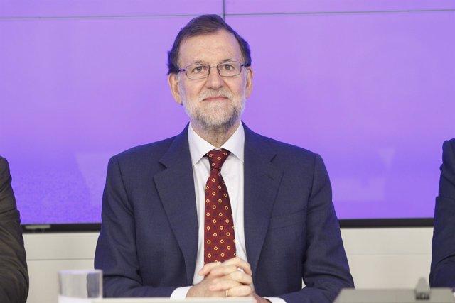 Rajoy preside la reunión del Comité Ejecutivo Nacional del PP