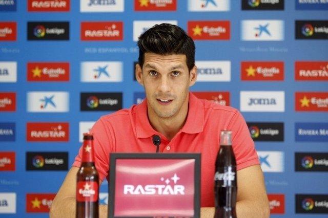 Javi López, capitán del RCD Espanyol