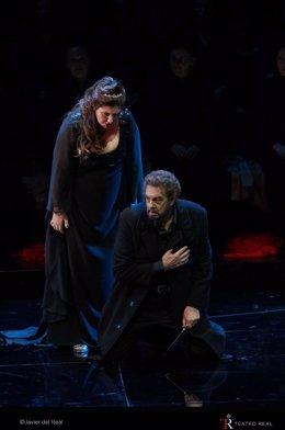Plácido Domingo y Ana Pierozzi protagonizan Macbeth en el Teatro Real
