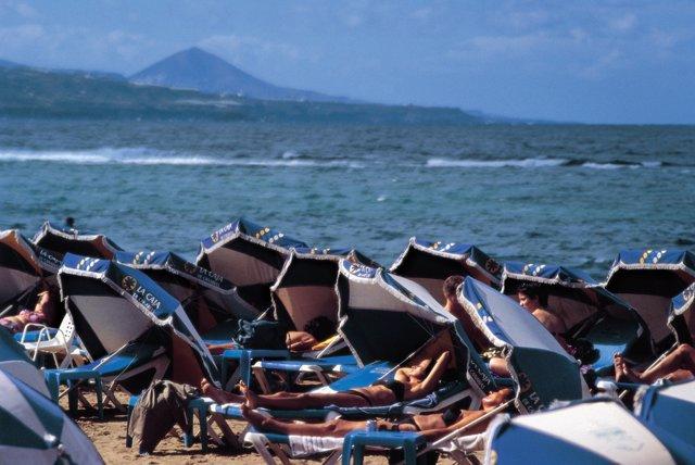 Playa en Canarias