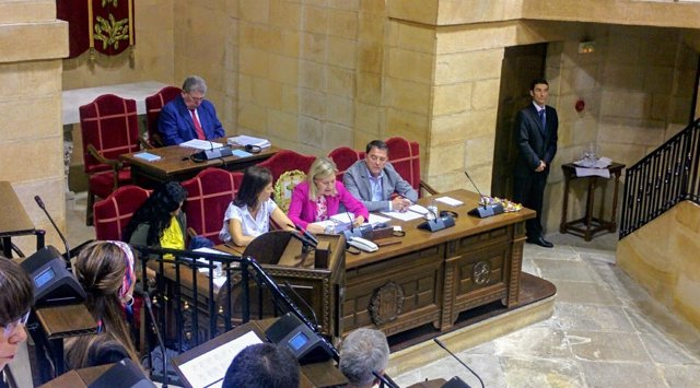 Pleno en la Casa de Juntas de Gernika