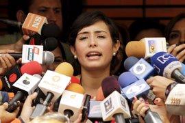 El Supremo venezolano da luz verde a una acción legal contra la mujer del líder opositor Daniel Ceballos
