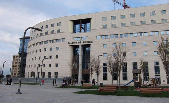 Palacio de Justicia de Pamplona.