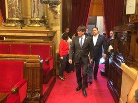 Puigdemont ratifica a Junqueras al frente del 1-O y no descarta cambiar el Govern