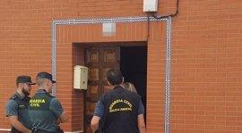 La Guardia Civil localiza en la cárcel de Badajoz a uno de los atracadores de un banco en Fuente de Cantos
