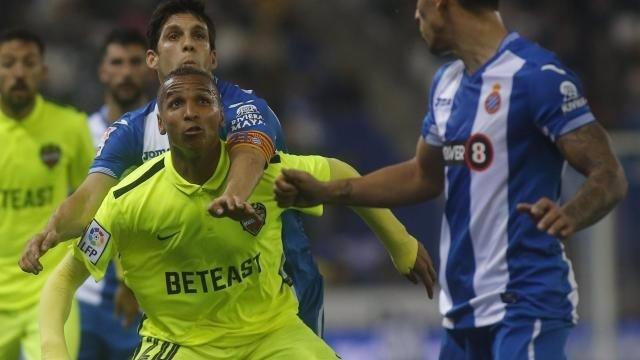 Deyverson en el Espanyol - Levante
