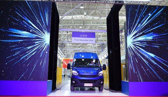 Inauguración de la planta de Iveco en Qiaolin (China)