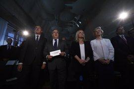 """Zoido exige unidad contra ETA, sin """"equidistancias ni eufemismos"""", y reivindica la memoria de las víctimas"""
