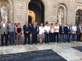 Barcelona guarda un minuto de silencio en recuerdo de todas las víctimas del terrorismo
