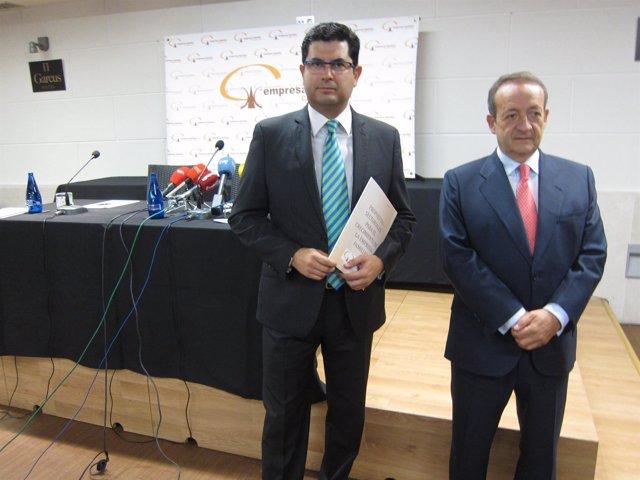 Valladolid.- Eduardo Estévez y José Miguel Isidro