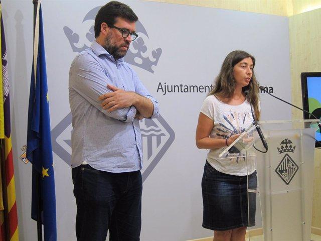 Antoni Noguera y Neus Truyol
