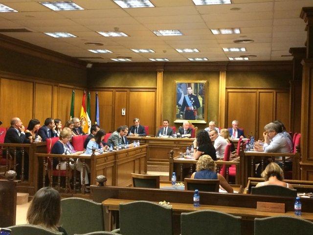 El pleno de la Diputación se ha reunido este miércoles de manera extraordinaria