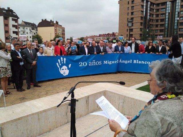 Recuero a Miguel Ángel Blanco.
