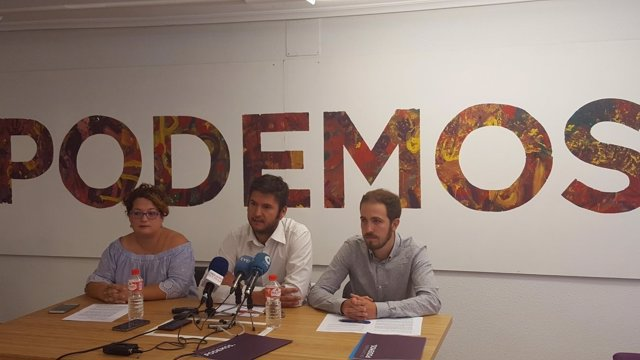 Alberto Gavín, coordinador de Podemos