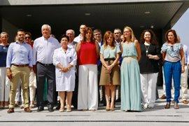 Susana Díaz participa en Lebrija (Sevilla) en un minuto de silencio en recuerdo de  Miguel Ángel Blanco