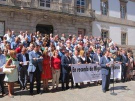 Galicia recuerda a Miguel Ángel Blanco y defiende la libertad frente al terrorismo