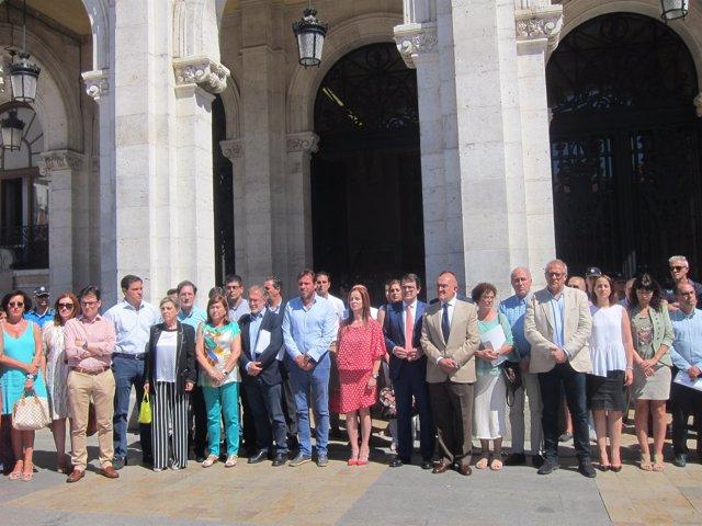Valladolid. Acto de homenaje a Miguel Ángel Blanco