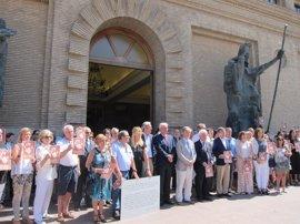 Autoridades y zaragozanos recuerdan a Miguel Ángel Blanco y víctimas del terrorismo