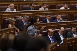 """Pablo Iglesias acusa al PP de usar la memoria de las víctimas del terrorismo """"de manera poco digna"""""""