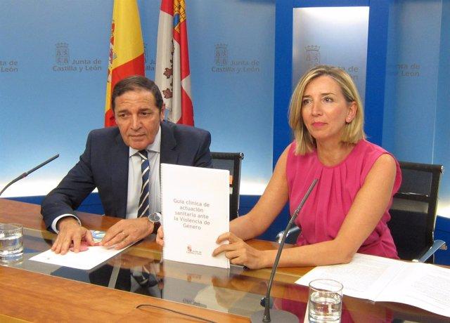 Sáez Aguado y Alicia García presentan la nueva guía
