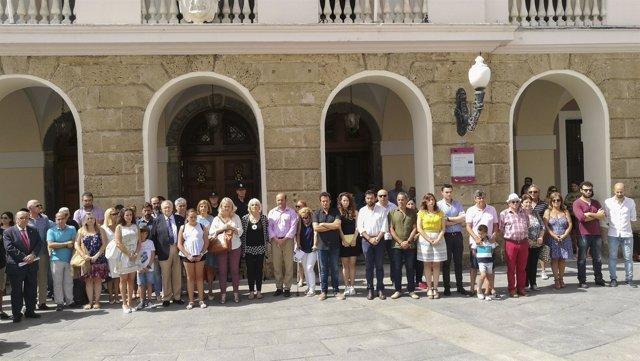 Homenaje a Miguel Ángel Blanco en el Ayuntamiento de Cádiz