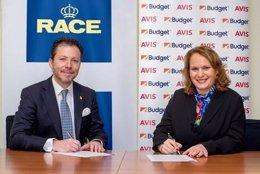 Acuerdo entre Avis y el RACE