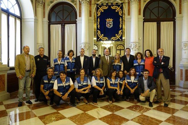 Diplomas espam málaga ayuntamiento alcalde de la torre