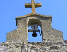 Denuncian el robo del campanil de la ermita de nuestra Señora de los Remedios de Villallano (Palencia)