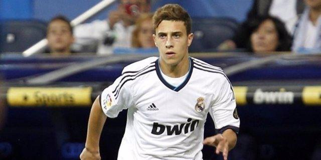 Mario Hermoso, lateral del filial del Real Madrid