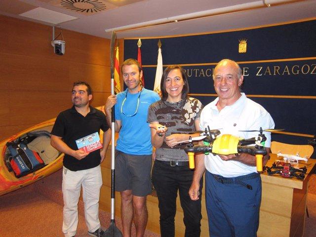 Laguna, Alamán, Palacín y Catalán han presentado actividades de 4º Espacio Joven