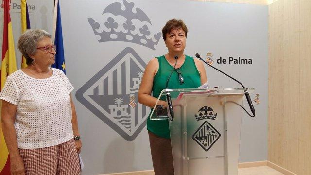Mercè Borràs y Susanna Moll