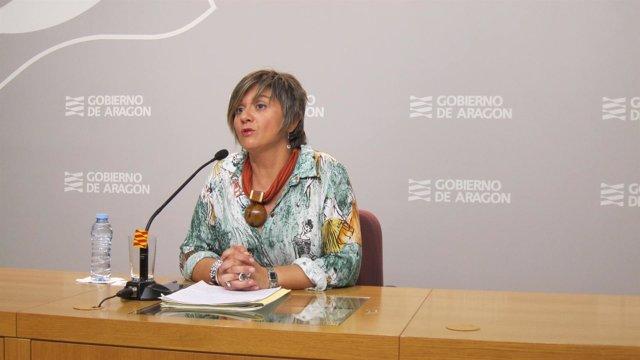 Directora general de Vivienda y Rehabilitación de Aragón, Mayte Andreu