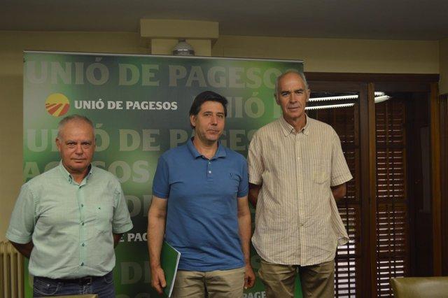 Santi Querol, Rossend Saltiveri y Josep Maria Cortada