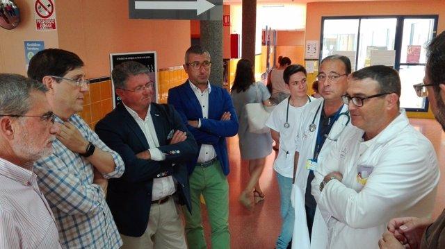 Visita centro salud Los Alcázares