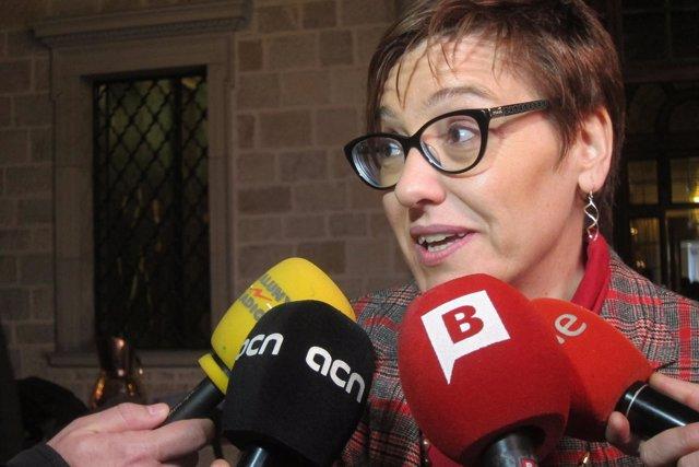 La concejal de Barcelona Montserrat Ballarín