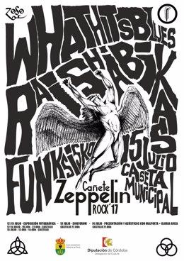 Cartel del V Zeppelin Rock