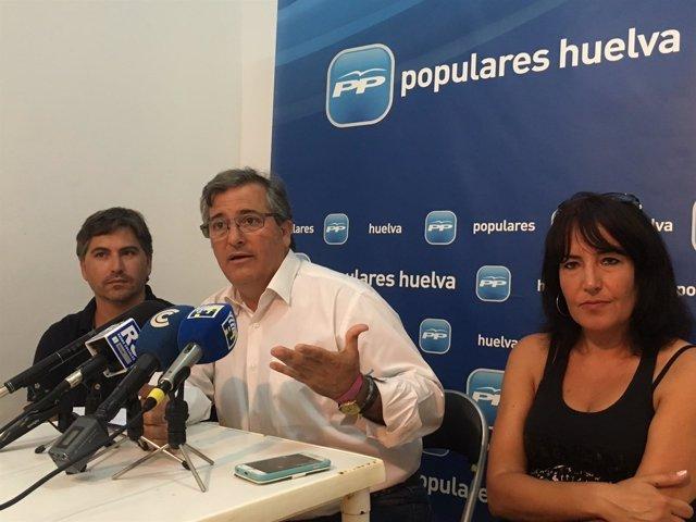 Francisco González, PP de Isla Cristina.