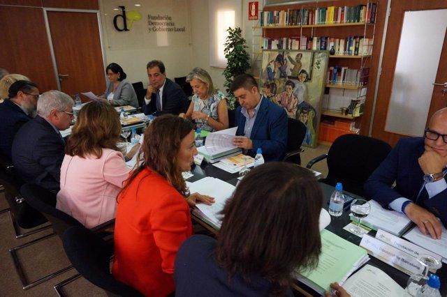 Reunión de la Fundación Democracia y Libertad