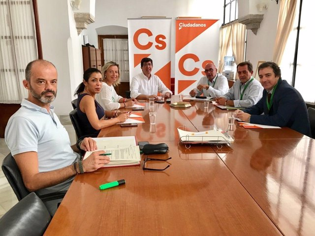 Reunión con el grupo parlamentario Ciudadanos