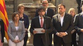 Puigdemont concentrará en un conseller las competencias del 1-O