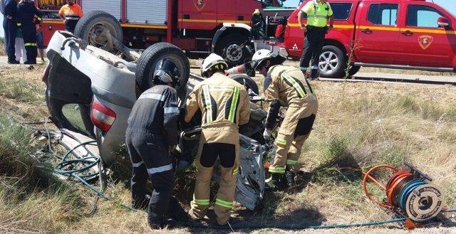 Una persona ha fallecido en este accidente de tráfico en Fréscano