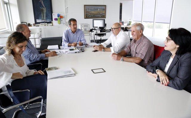 Reunión sobre el Nansa
