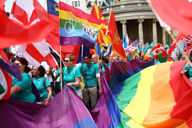 Marcha del orgullo gay en Londres