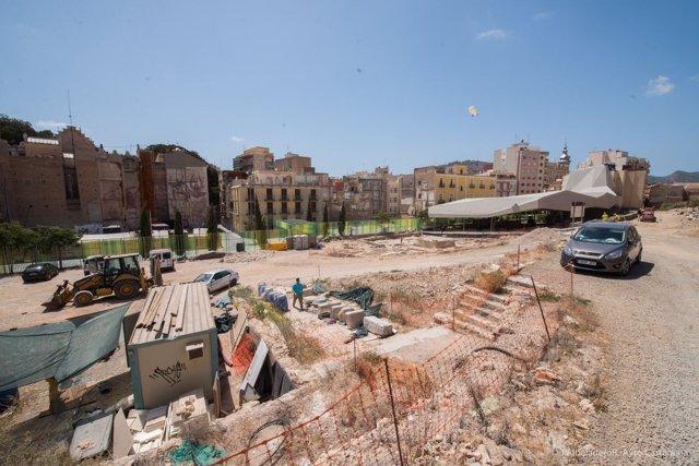Excavaciones del Barrio del Foro del Molinete